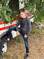 Кофта, батник, свитшот трикотаж для мальчиков 134-176см