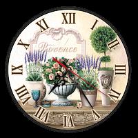 "Годинник Ф25см  ""Прованс"" ""Букет троянд"""