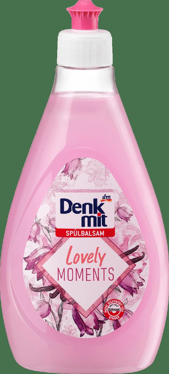 Жидкость для мытья посуды Denkmit Spülbalsam Lovely Moments, 500ml.