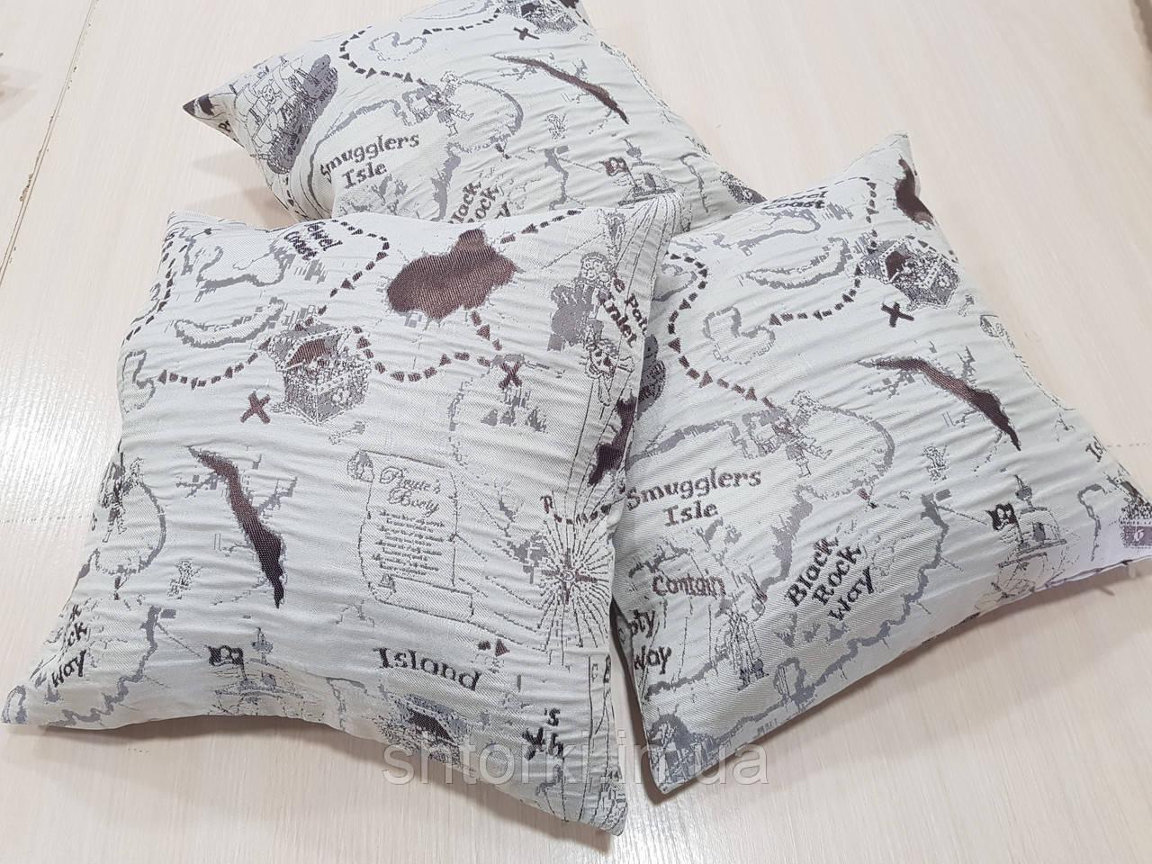 Комплект подушек  Карта пирата, 3шт
