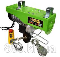 Подъемник электрический тельфер Procraft TP1000 лебедка