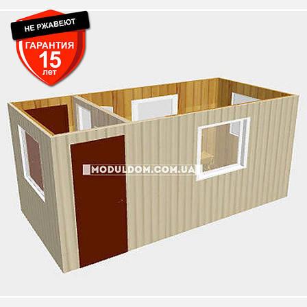 Пост охраны (5 х 2.4 м.), мобильный офис с проходной., фото 2