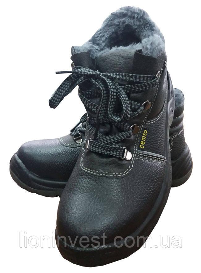 Ботинки рабочие зимние со стальным подноском BTPuOC В