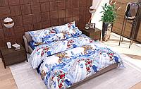 Комплект постельного белья полуторный, ранфорс 100% хлопок. Постільна білизна. (арт.13158)