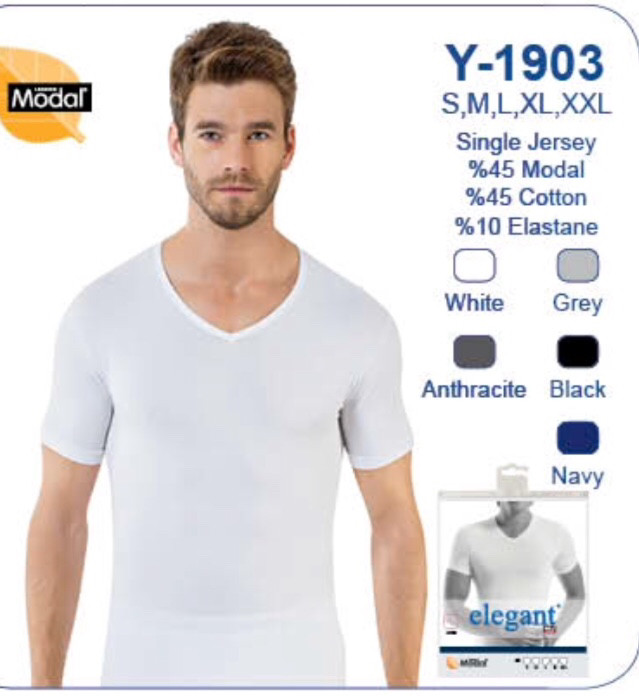 Нательная майка- футболка  для мужчин