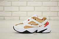 Женские кроссовки Nike M2K Tekno Beige Red