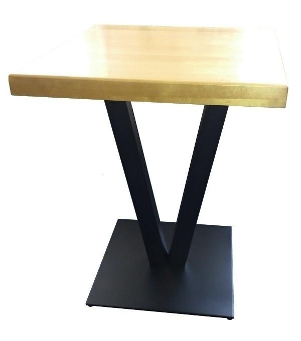 """Металлическая опора """"Victoria Mini"""" с двумя ножками для стола"""