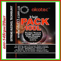 "Дрожжи спиртовые Alcotec MegaPack 360г. ""Hambleton Bard"" (Великобритания),Годен до: 07.2021г."