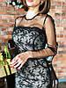 """Шикарное платье «Casual"""", дорогое кружево ,сетка.  Размер: 42 и 44. Разные цвета (6166), фото 3"""