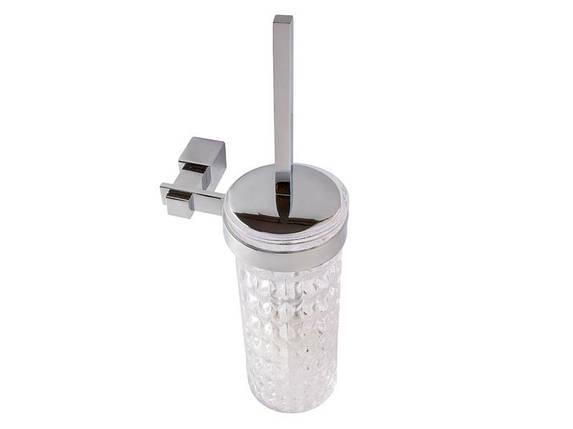 Ершик настенный KUGU С5 505 (латунь, хром, стекло)(Бесплатная доставка  ), фото 2