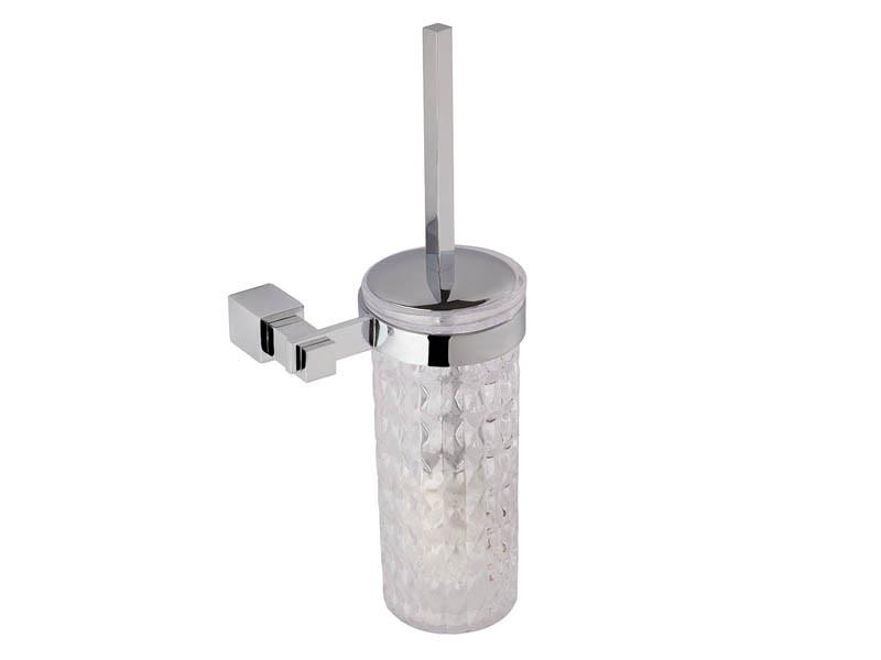 Ершик настенный KUGU С5 505 (латунь, хром, стекло)(Бесплатная доставка  )