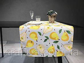 Дорожка раннер для стола хлопок интерьерная, скатерть на стол, раннер на стіл, скатертина