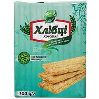 Хлібці пшеничні з морською капустою 100г Galetti