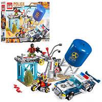 Конструктор типа Лего(Lego) Конструктор BRICK 1913 Полиция 296 дет