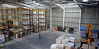Строительство складских помещений.