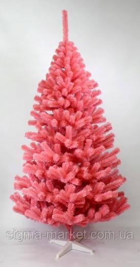 Елка сосна искусственная розовая 220 см