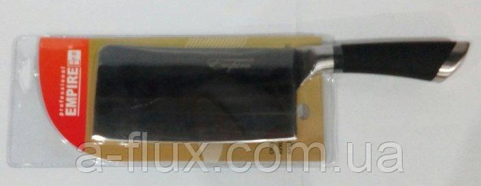 Нож секатор  кухонный с черной ручкой 320*90 мм Empire 3055