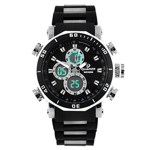 Часы наручные Quamer 1520 водонепроницаемые