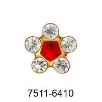 Studex SYSTEM 75 серьги-иглы 7511-6410 цветочек
