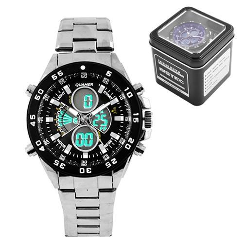 Часы наручные Quamer 1103 водонепроницаемые в подарочной коробке