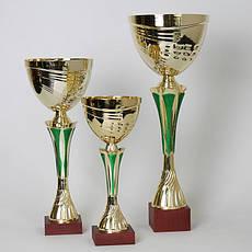 Кубок  Green спортивный с ручками 24 см
