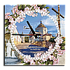 """Годинник 29х29 см.  Гошів.  """"Василіянський монастир на Ясній Горі"""""""