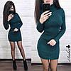 Платье .  Размер единый:42-46. Цвет: хаки, беж, белый, пудра, чёрный,оливка, темно-зелёный (5338), фото 4