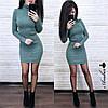 Платье .  Размер единый:42-46. Цвет: хаки, беж, белый, пудра, чёрный,оливка, темно-зелёный (5338), фото 7