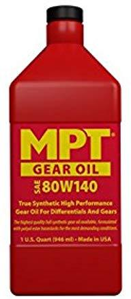 MPT ® 100% Full Synthetic Gear Oil 80W140