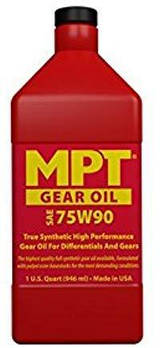 MPT ® 100% Full Synthetic Gear Oil 75W90