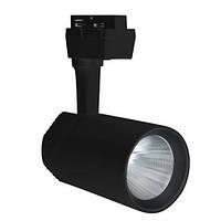 Світлодіодний світильник трековий 20W 4200K Horoz Electric Varna-20 чорний