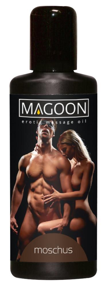 Массажное масло Moschus Massage — мускус, 100 мл