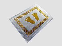 Килимок бавовна 50Х70. Туреччина Жовтий