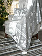Плед вязаный 130x170 BETIRES NOELLA GREY (100% акрил), фото 6