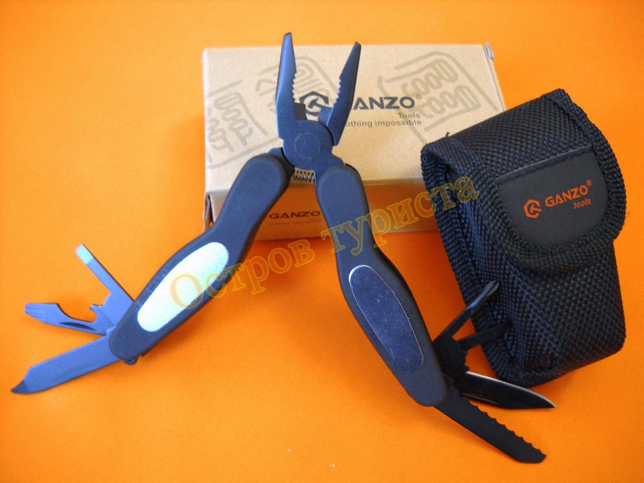 Мультитул Ganzo G2020S 11 инструментов с чехлом