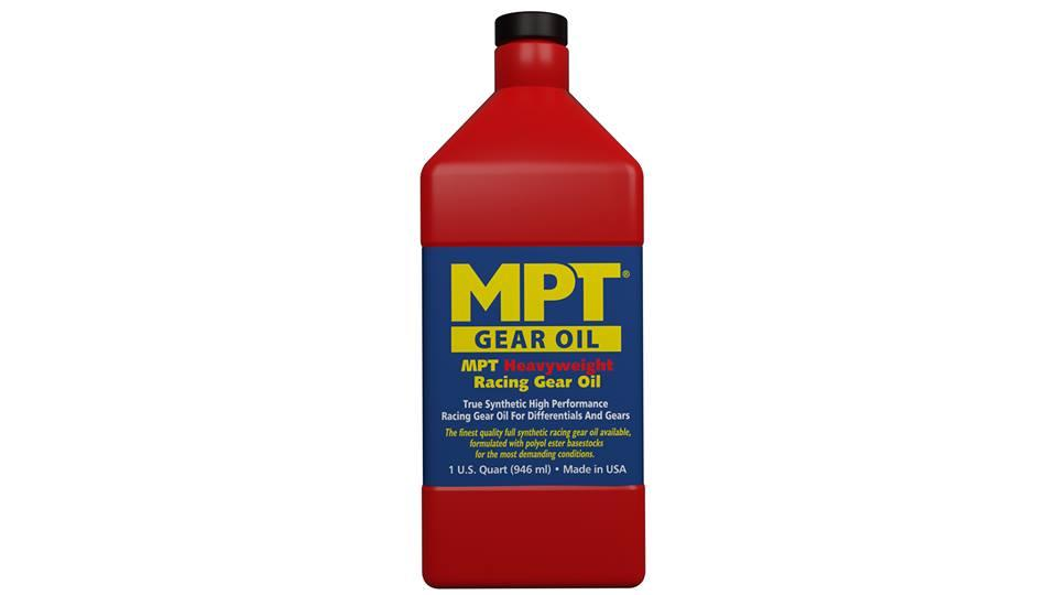 MPT ® 100% Full Synthetic Heavyweight High Performance Racing Gear Oil