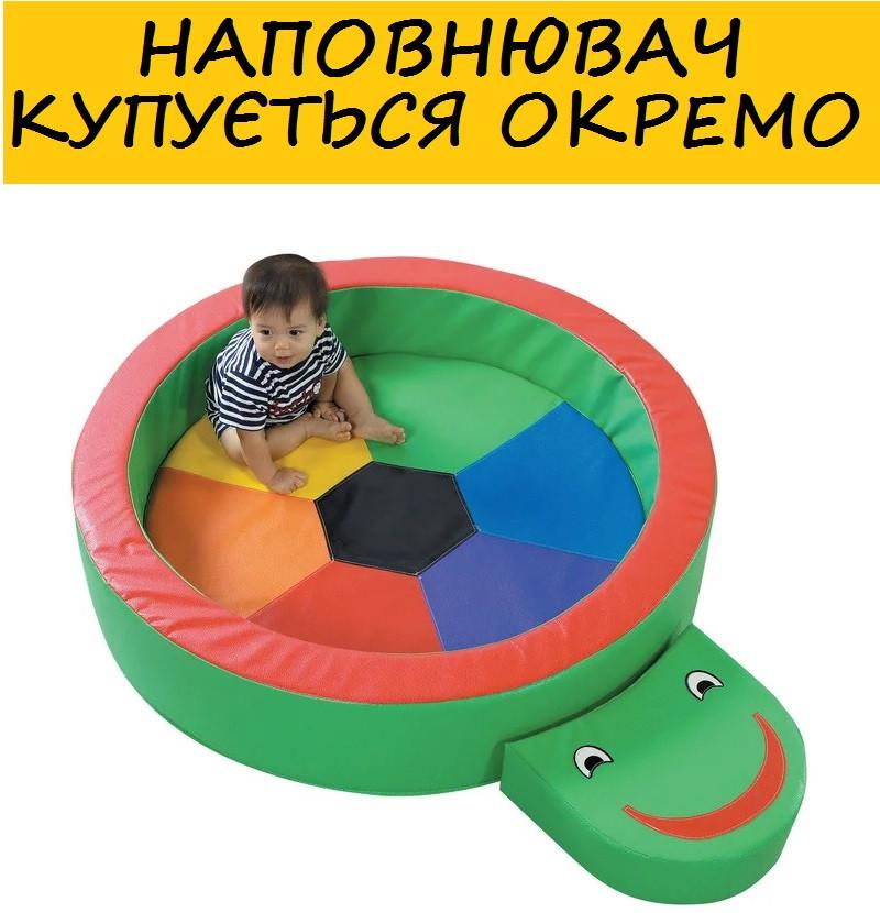 """Сухой бассейн """"Черепаха"""" (Шарики приобретаются отдельно)"""
