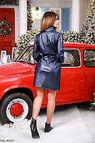 Сукня екокожа 165115, фото 3
