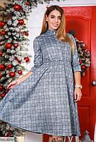 Сукня міді замш в кольорах 165108, фото 3