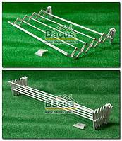 Сушилка-гармошка для белья настенная (ширина - 80см) Dogus Banyo Spring-60, фото 1