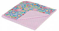 Плед-конверт Twins Minky Лето 75х75 см pink