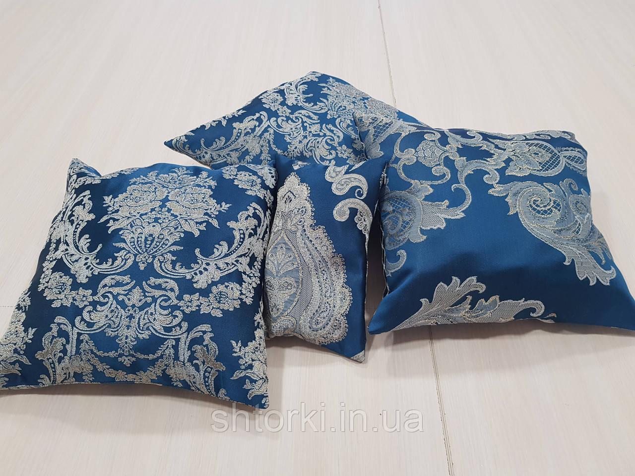 Комплект подушок Класика сині, 4шт