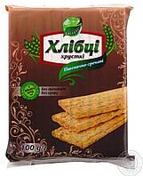 Хлібці пшенично-гречані хрусткі дієтичні 100г Galetti