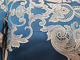 Комплект подушок Класика сині, 4шт, фото 3