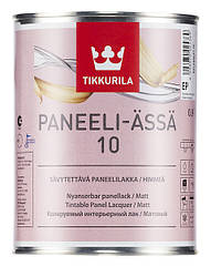 Матовый акриловый лак Tikkurila Paneeli Assa 10 0.9л