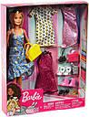 Кукла Барби Модница с одеждой и аксессуарами Barbie Fashions GDJ40, фото 10