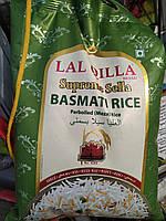 Рис Басматі Lal Qilla Supreme Sella 5кг білий Індія
