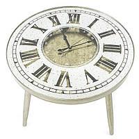 Журнальный столик с часами - Vintage 60 cm