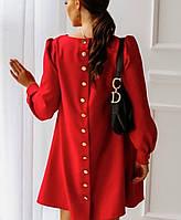 Женское платье 4021 (42/46 универсал) (цвет красный) СП