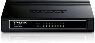 Комутатор TP-Link TL-SG1008D (8х10/100/1000 Мбіт, настільний)